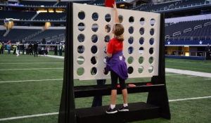Blue Spark - Giant Connect Four - AT&T Stadium.JPG