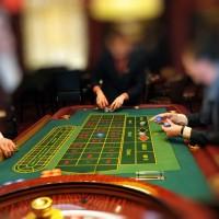 Blue Spark Event Design - Casino Roulette Table