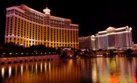 The Bellagio in Las Vegas, NV.