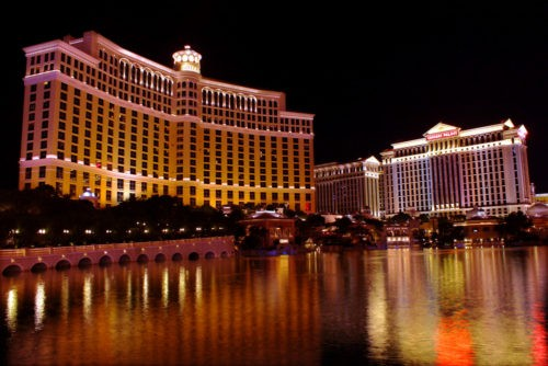 The Bellagio in Las Vegas, NV.
