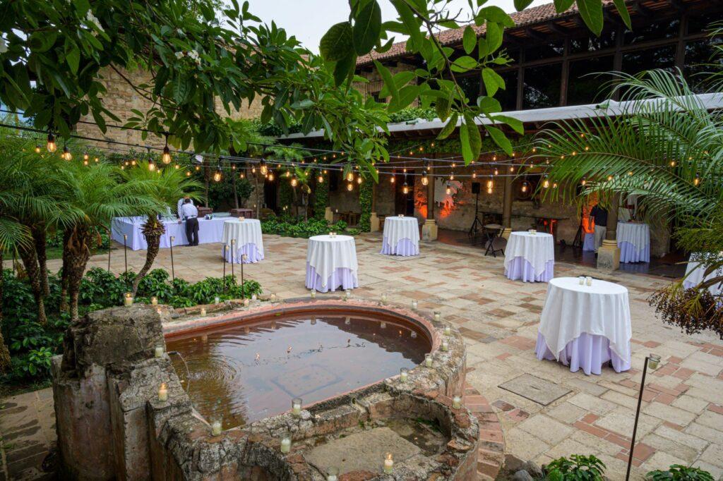 Antigua Gautemala custom outdoor event incentive trip