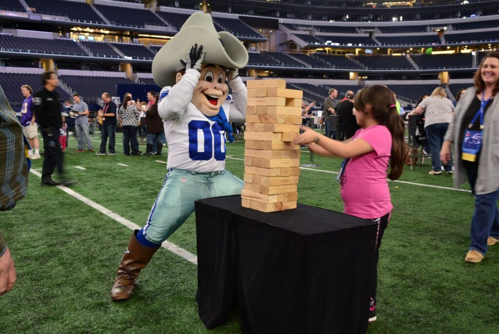 Cowboys stadium local experience custom event