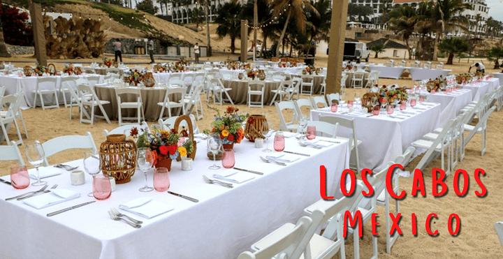 Group Dinner on Los Cabos Beach