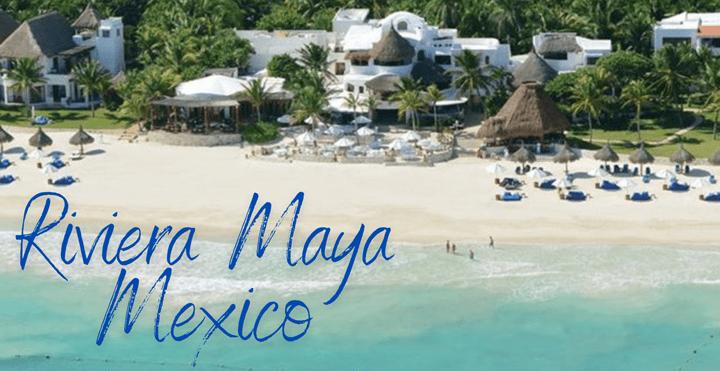 Beach in Riviera Mexico